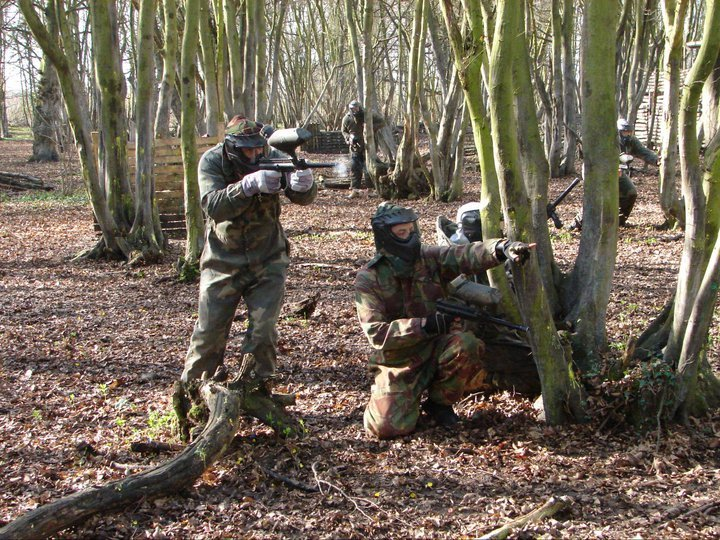 Paintball, Childrens paintball, Laser tag in Sawbridgeworth, close to Bishops Stortford
