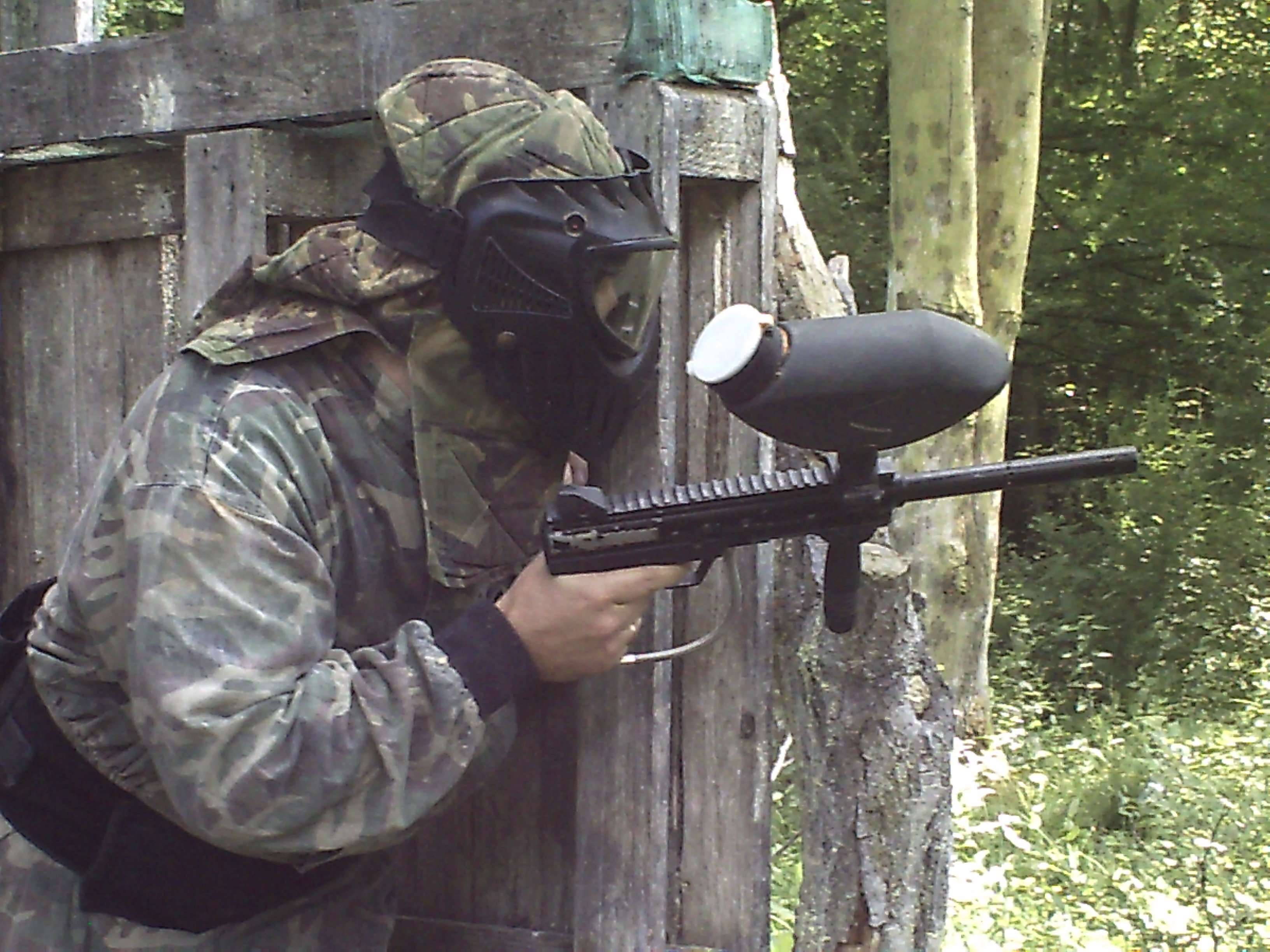 Paintballing in Kent