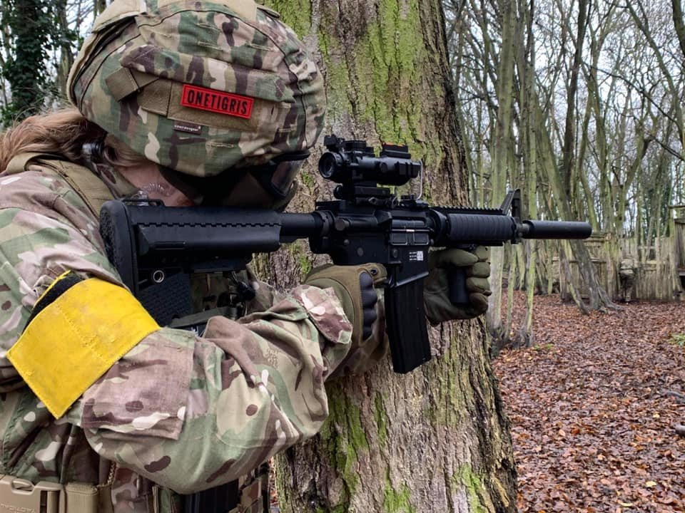 Female Airsoft in Herts